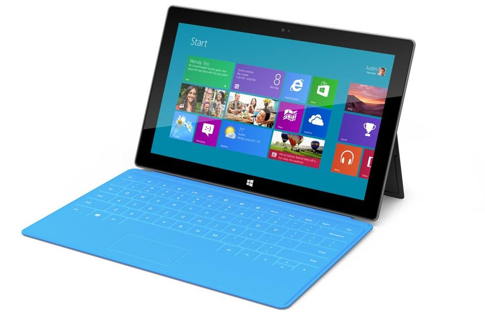 Microsoft Surface windows Tablet  RT version