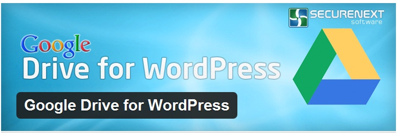 Backup WordPress with Google Drive for WordPress