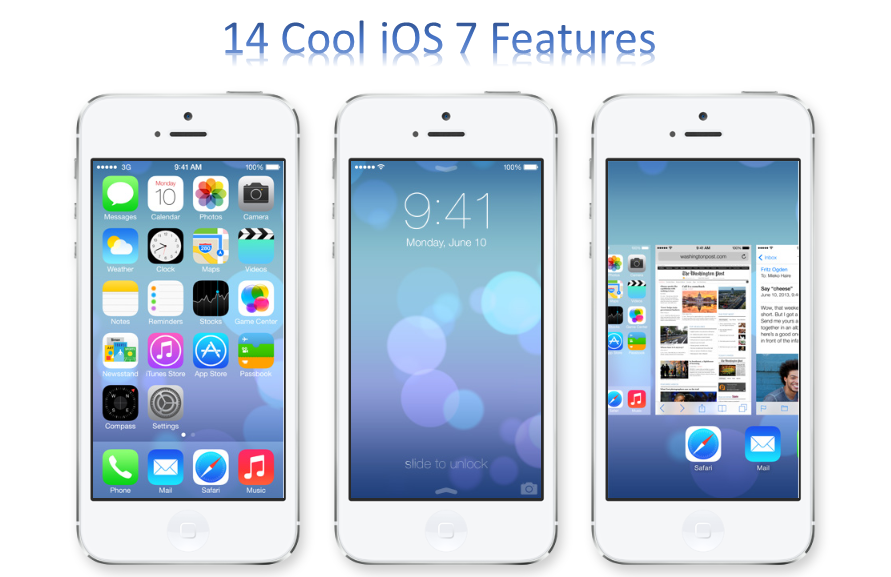 iOS 7 features
