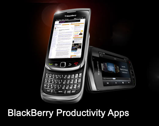 Blackberry Productivity Apps
