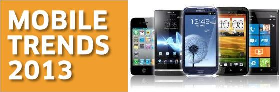 Mobile Trends for 2013