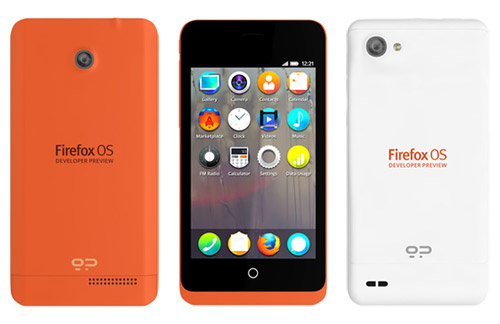 Firefox OS - 5 Little known phone operating systems